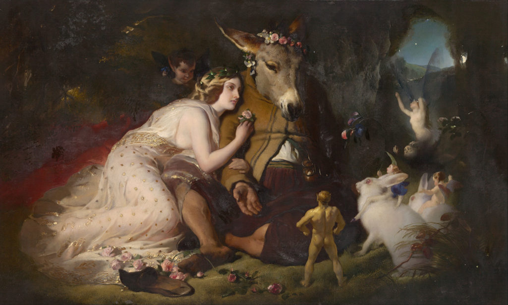 edwin_landseer_-_scene_from_a_midsummer_nights_dream-_titania_and_bottom_-_google_art_project