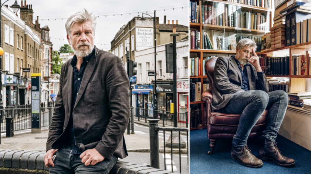 Karl Ove Knausgård, intervju i London