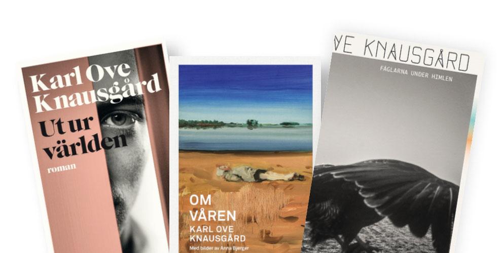 Böcker av Karl Ove Knausgård