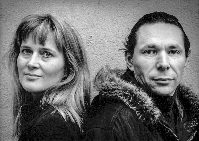 Katarina Frostenson och Jean-Claude Arnault år 1989 Foto: Maj-Britt Rehnström/TT