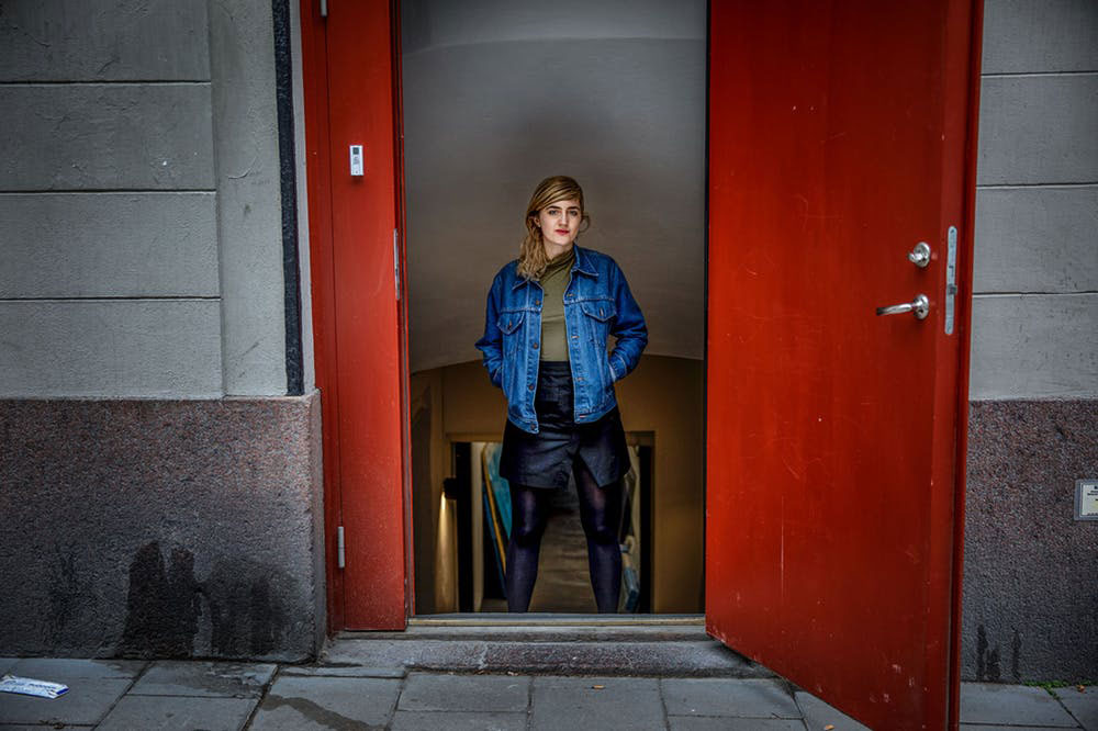 Sigtunagatan, Stockholm. Forum har fått lämna plats för fotostudion Indigo. Foto: Casper Hedberg