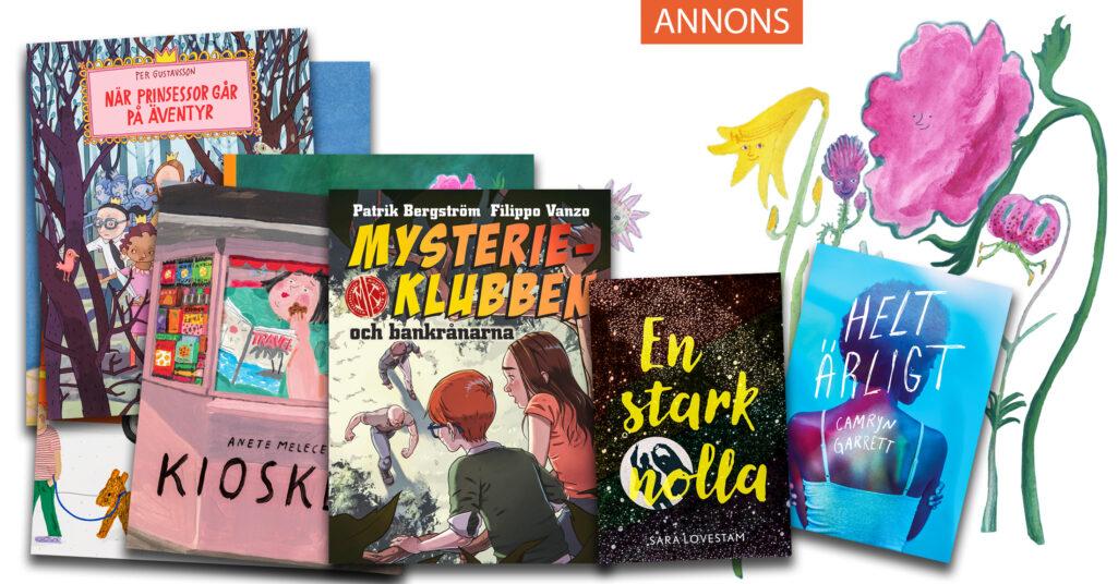 Lilla Piratförlaget tipsar om barn- och ungdomsböcker.