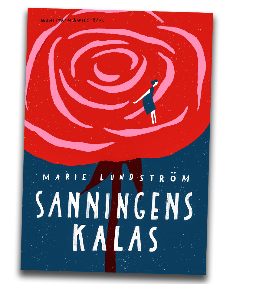 Bokomslag till Marie Lundströms bok Sanningens kalas.