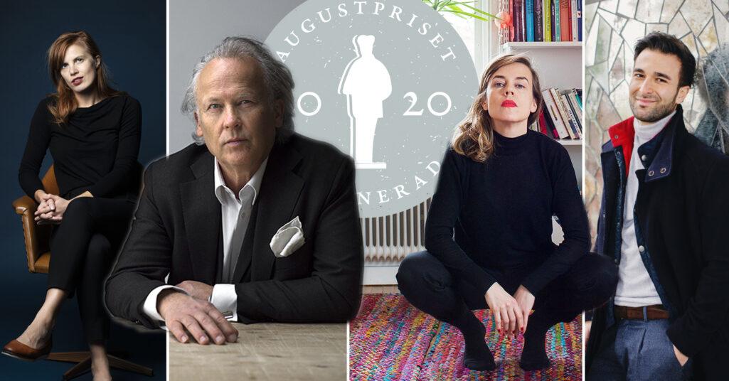 Augustpriset 2020: Bland de nominerade finns Lydia Sandgren, Annika Norlin Klas Östergren och Arash Sanari