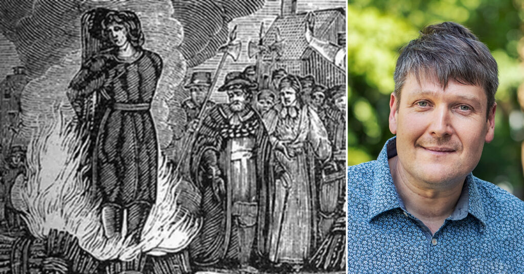 Marko Lamberg har skrivit en bok om Malin Matsdotter som brändes som häxa