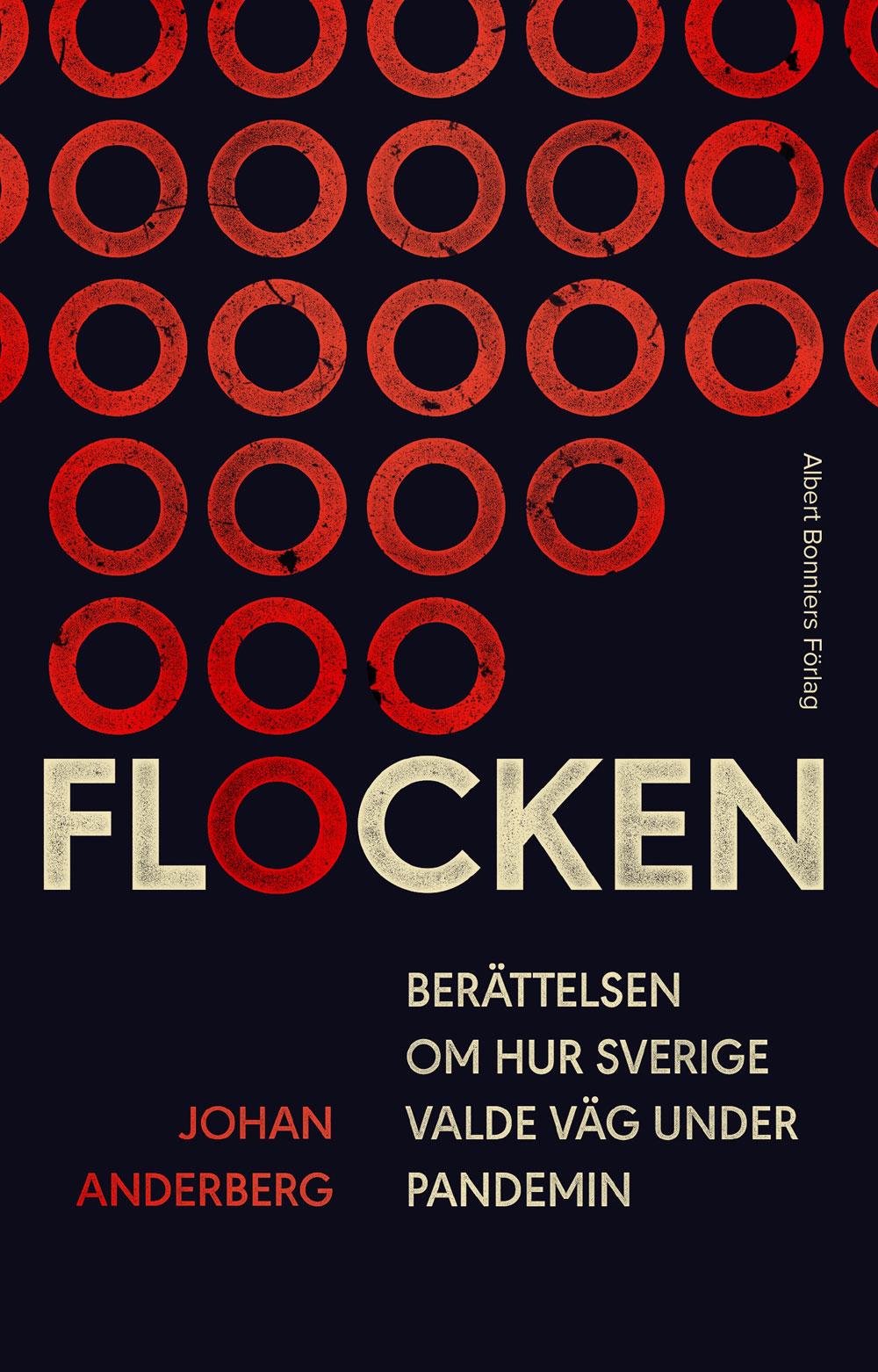 Omslag till boken Flocken, av Johan Anderberg.