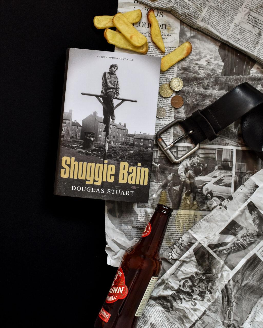 Omslaget till Shuggie Bain av Douglas Stuart.